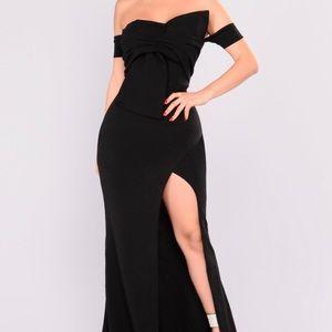 Fashion Nova Off-Shoulder Dress
